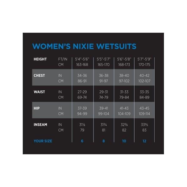 Nixie Size Chart