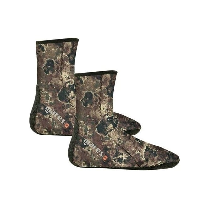 Mares Camo Open Cell Socks Brown
