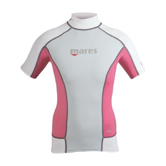 Mares She Dives Rash Guard Pink