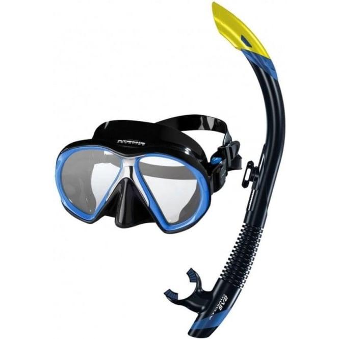 Atomic Aquatics Platinum Dry Snorkelling Set