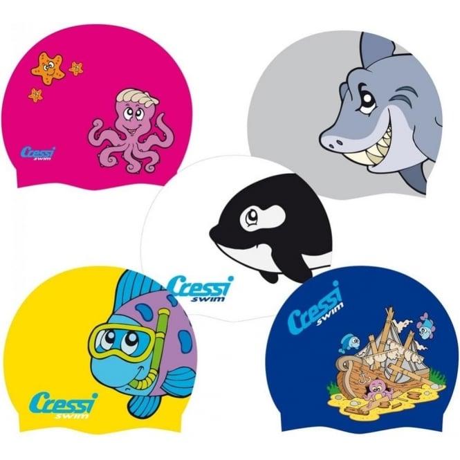 Cressi Junior Fun Silicone Swim Cap