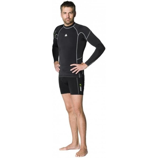 Waterproof R30 Rash Vest Long Sleeve Mens