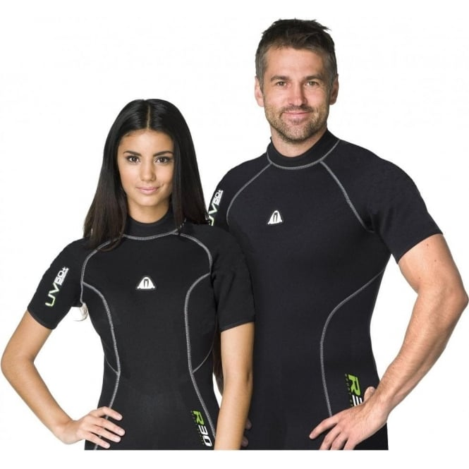 Waterproof R30 Rash Vest Mens Short Sleeve
