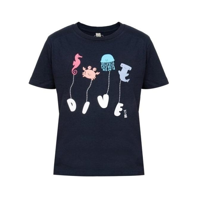 Fourth Element Kids Navy Dive T-Shirt