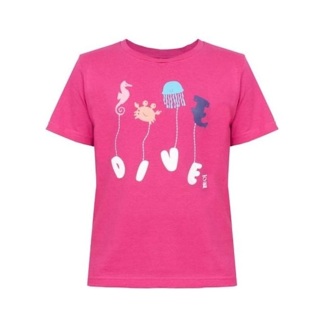 Fourth Element Kids Navy Pink T-Shirt