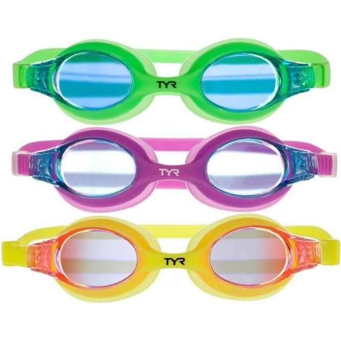 TYR Swimples Mirrored Kids Goggles