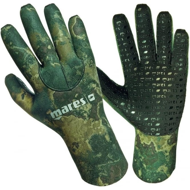Mares Camo 3mm Glove Green