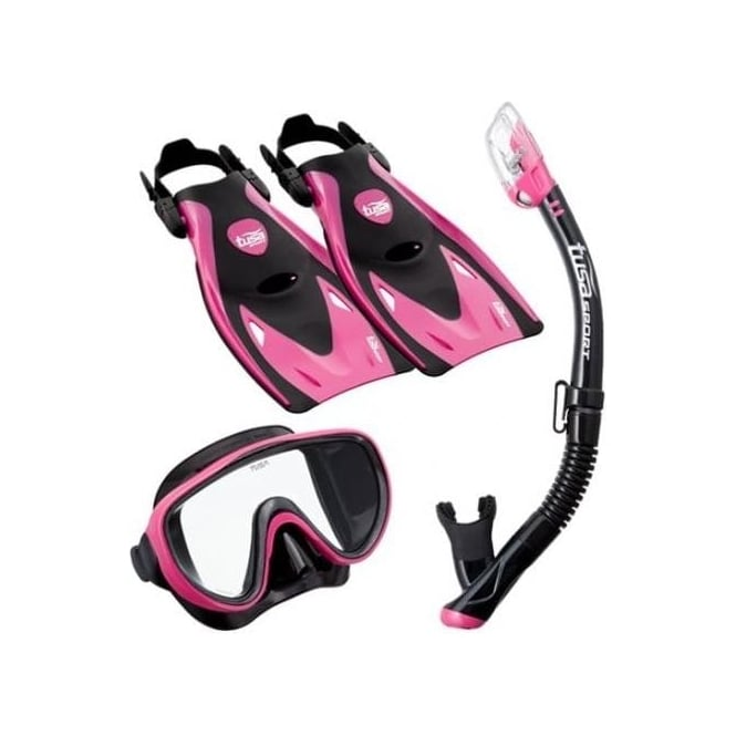 Tusa Sport Serene UF-21 Mask, Snorkel and Fin Set