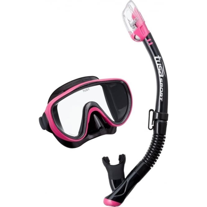 Tusa Serene Mask and Snorkel Set