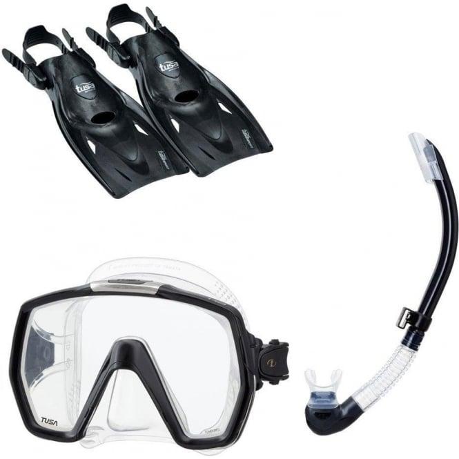 Tusa Freedom HD Snorkel Set