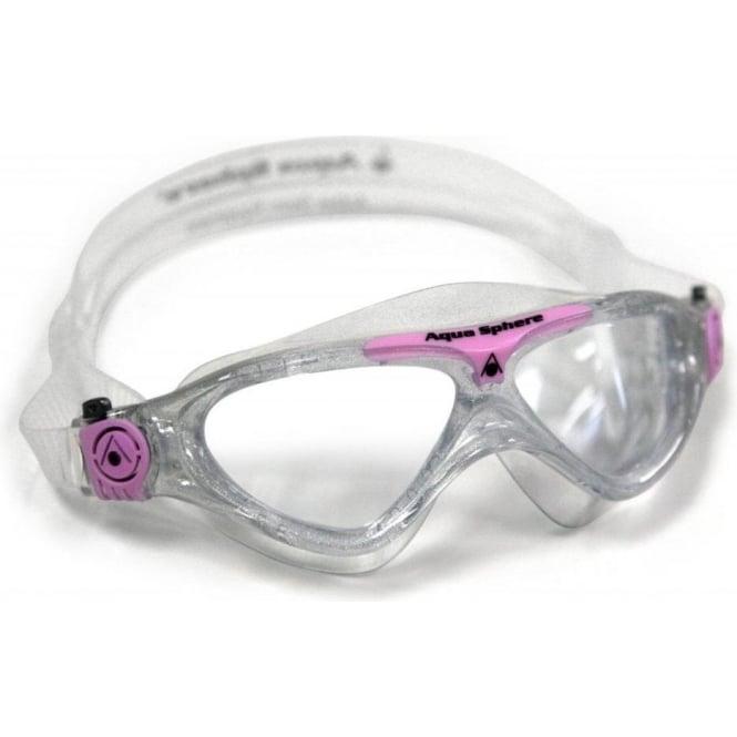 Aqua Sphere Pink Vista Junior Goggles