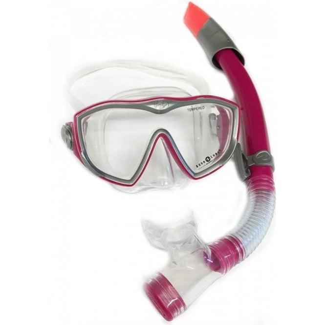 Aqua Lung Diva LX Ladies Mask & Snorkel Set