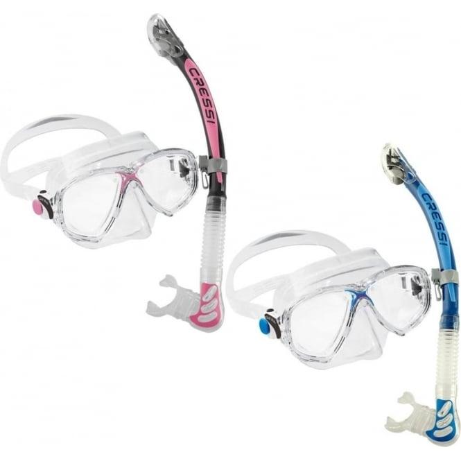 Cressi Marea Ultra Dry Snorkelling Set
