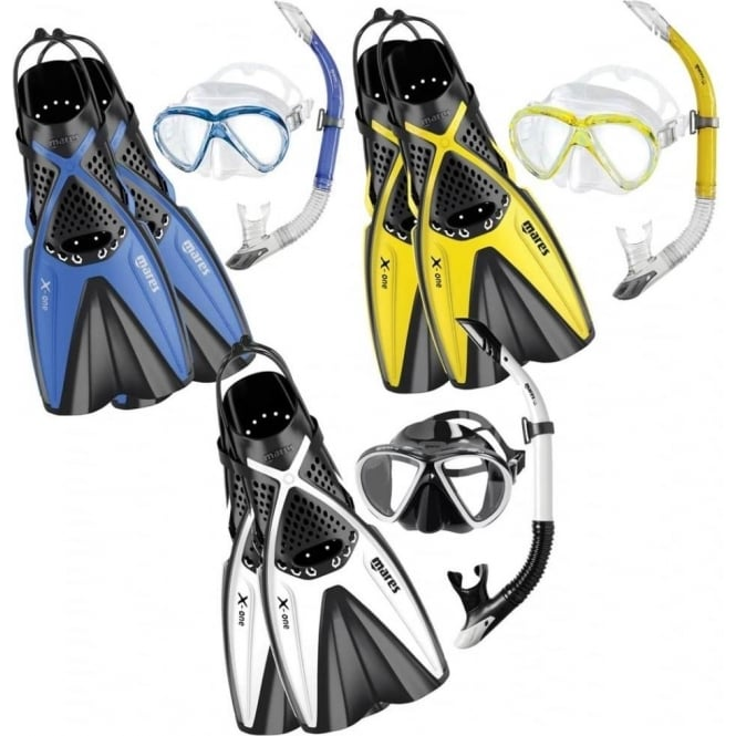 Mares X-One Travel Snorkelling Set