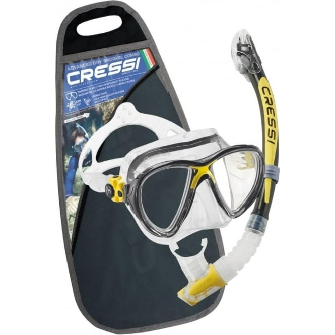 Cressi Big Eyes Evolution Kappa Ultra Dry Set