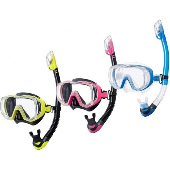 Tusa Tri Quest Premier Dry Snorkelling Set