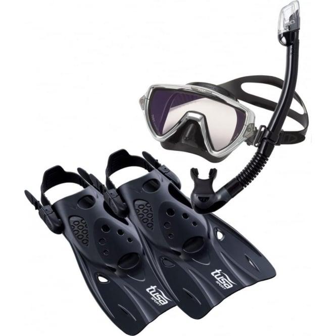 Tusa Visio Pro Travel Snorkelling Set