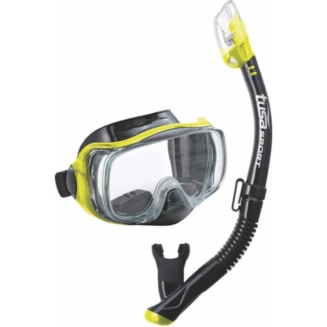 Tusa Imprex 3D Hyperdry Purge Mask & Dry Snorkel Combo