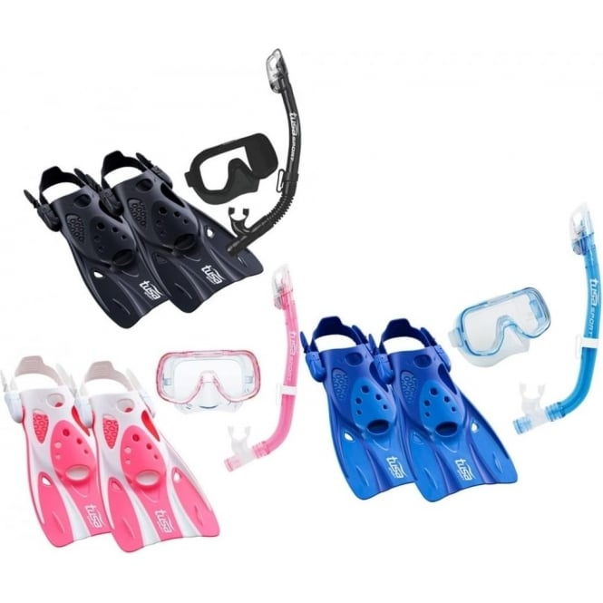 Tusa Premium Junior Snorkelling Set