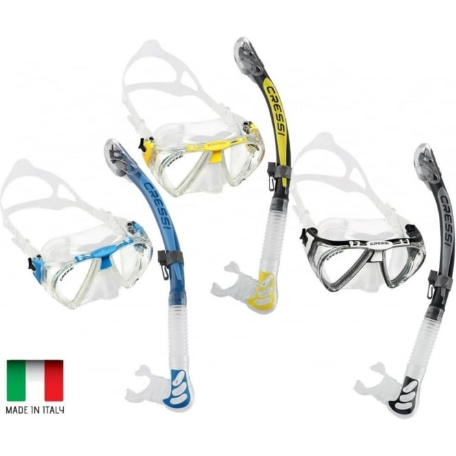 Cressi Penta Max-Vision Dry Set