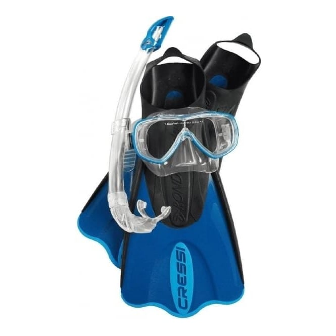Cressi Elastic Short Snorkelling Set