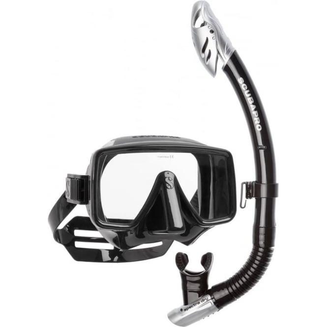 Scubapro Frameless Classic Dry Snorkelling Set