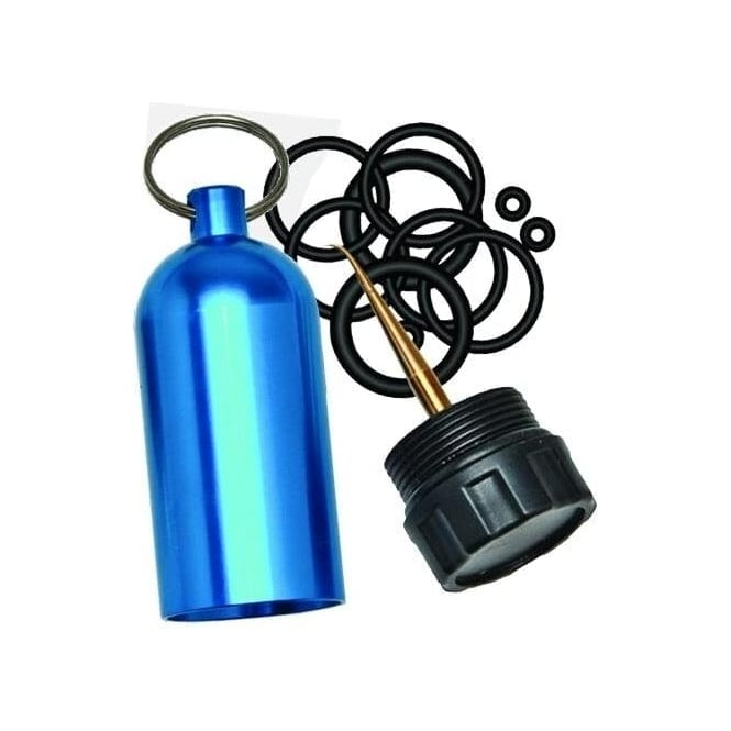 Tank O-Ring Keychain with Pick