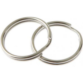 1 Inch Split Rings - Twin Pack