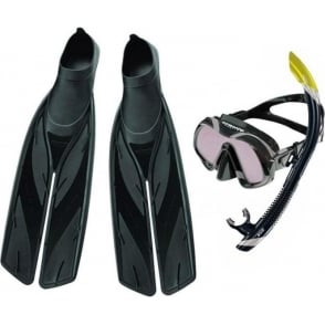Venom Mask ARC, SV2 Dry Snorkel & Split Fin Set