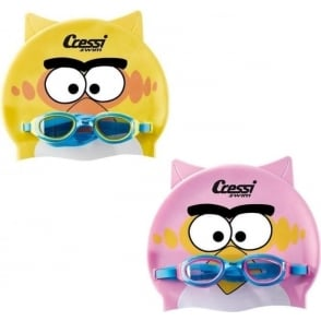 Swim Kid Cap and Goggles set
