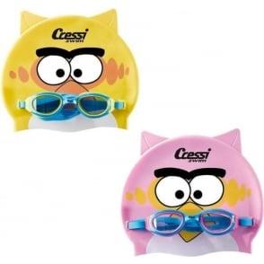 Swim Kid Cap and Goggles set