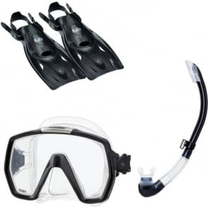 Tusa Freedom HD Snorkel Set