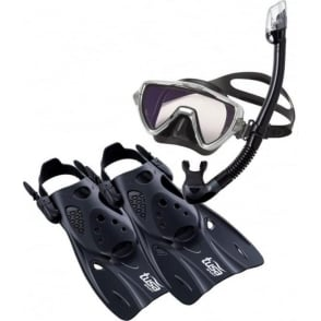 Visio Pro Travel Snorkelling Set