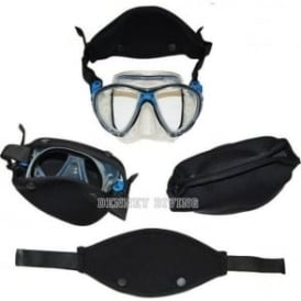 Neoprene Combo Mask Strap & Pouch