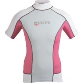 She Dives Rash Guard Pink