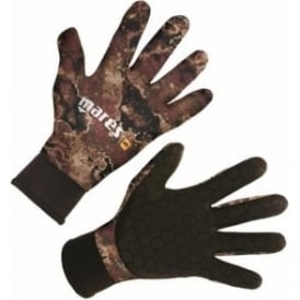 Camo 3mm Glove Brown