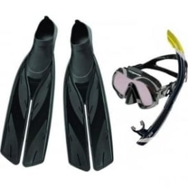 Venom Mask ARC, SV2 Dry Snorkel & Split Fin Set