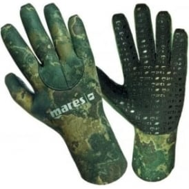 Camo 3mm Glove Green