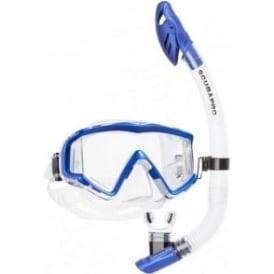 Crystal VU Dry Snorkelling Set