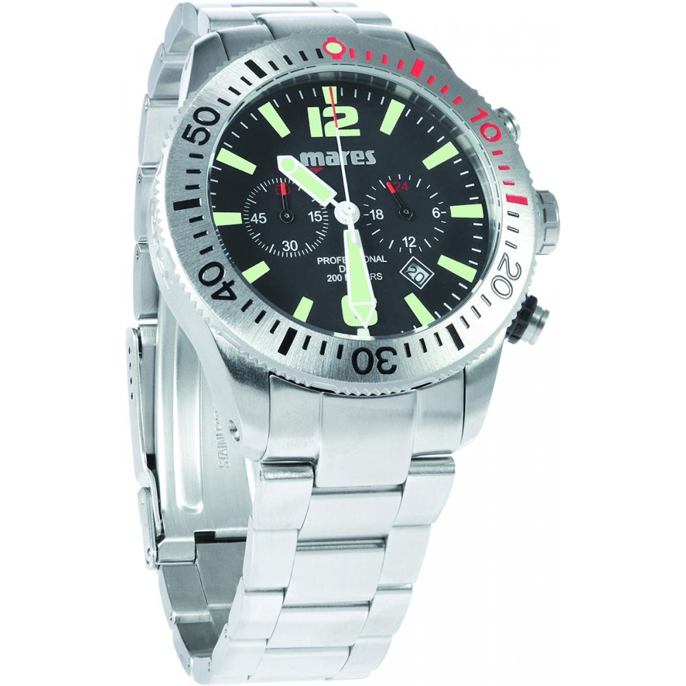 Mission chrono divers watch - Mares dive watch ...