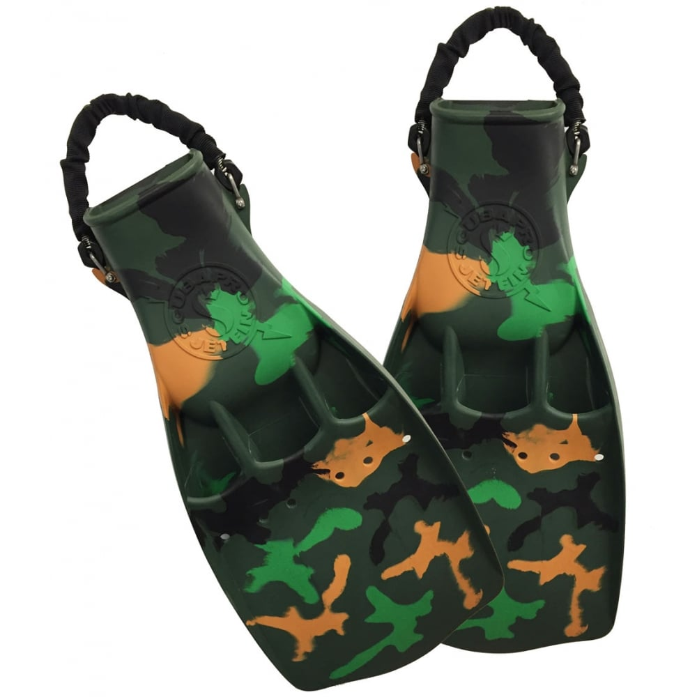 Scubapro Jet Fin Ltd Edition Camouflage Version Of The
