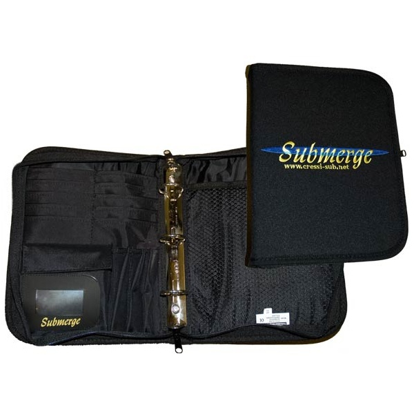 Submerge 3 Ring Log Binder
