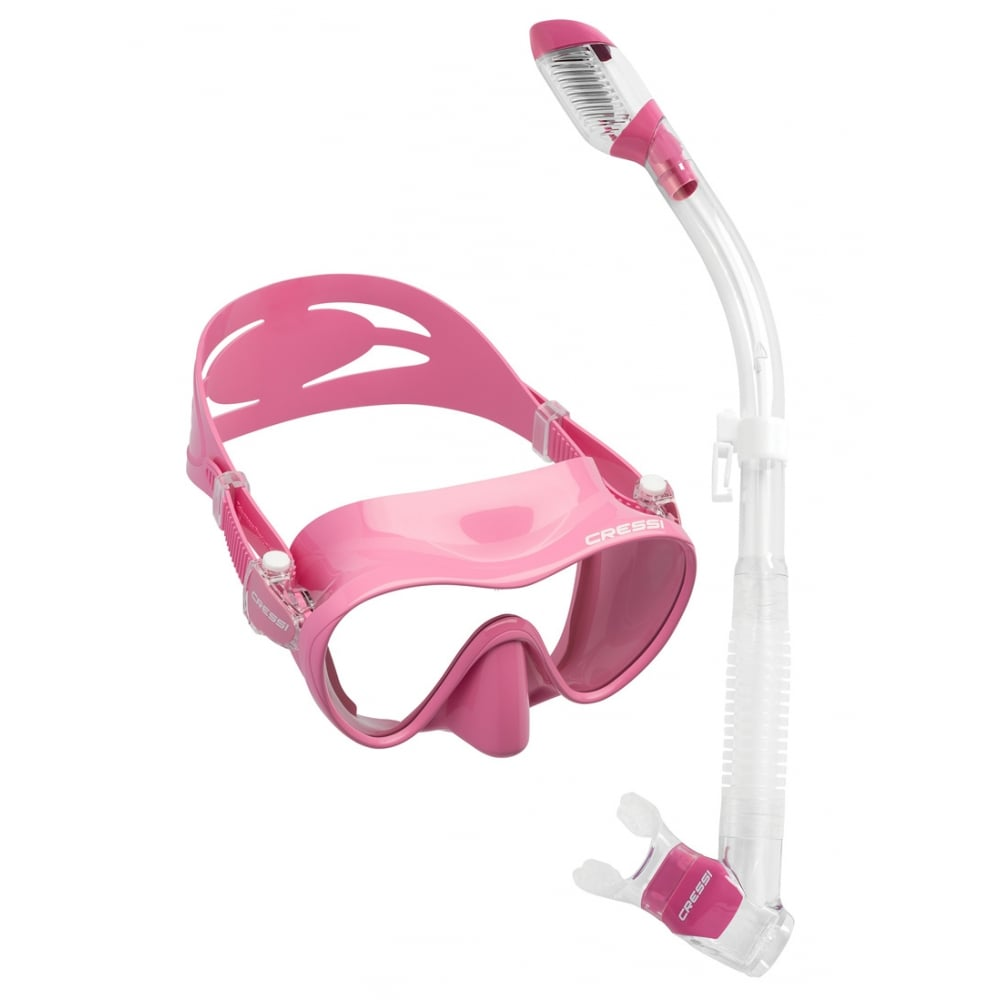 c7610711656 F1 Frameless Mask   Dry Snorkel Set