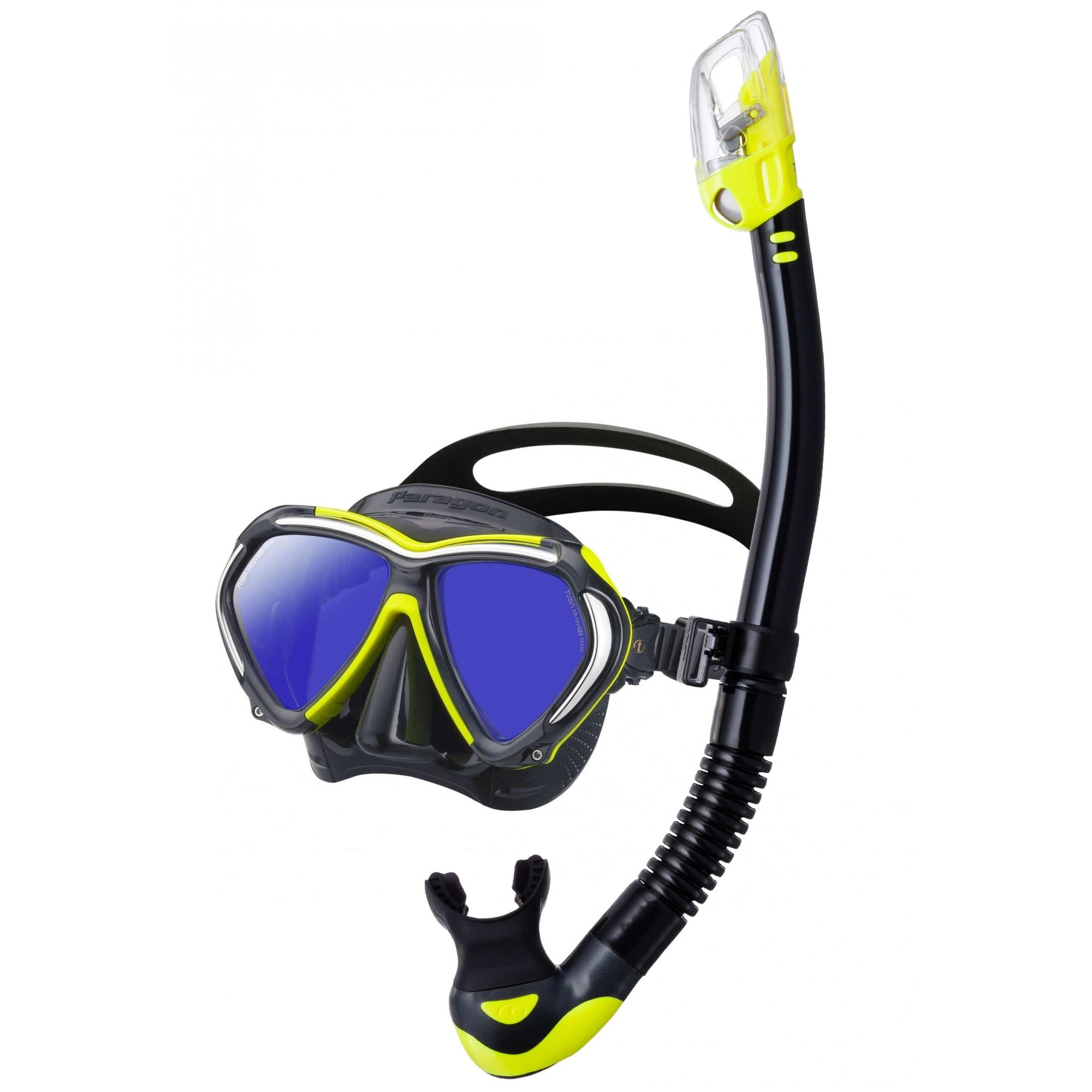 Tusa Hyper Dry Elite 2 SP-0101 Adult Dry Snorkel Indigo Blue